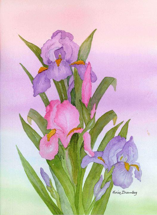 Irresistable Iris - Lorie Bramley