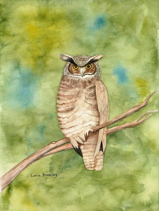 Great Horned Owl - Lorie Bramley