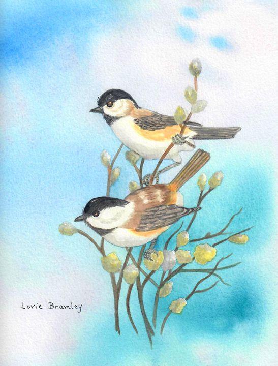 Chickadees - Lorie Bramley