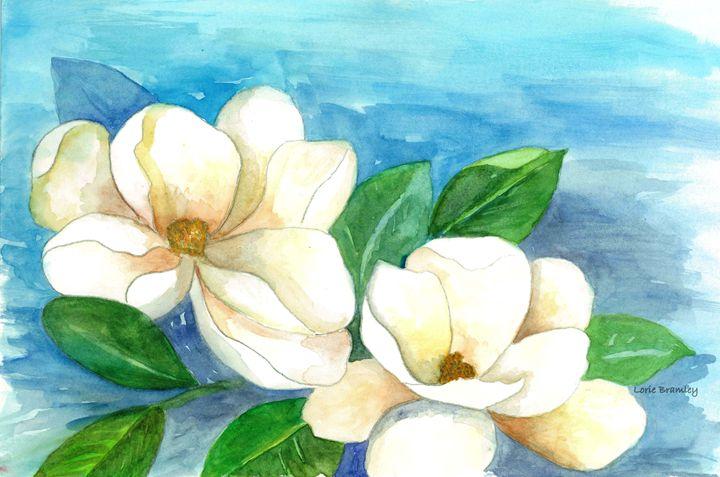 Magnolias - Lorie Bramley