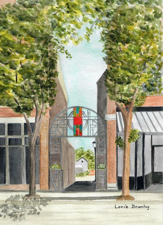 Art in the Alley - Lorie Bramley