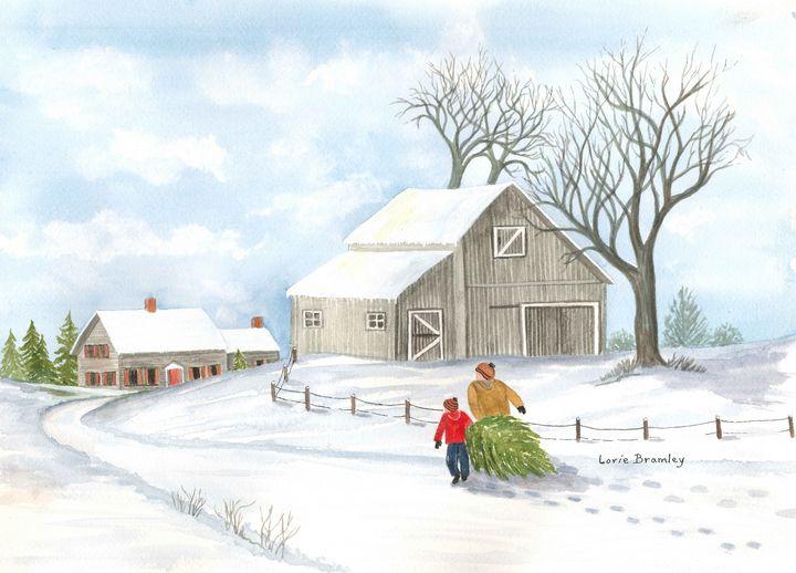 Christmas on the Farm - Lorie Bramley