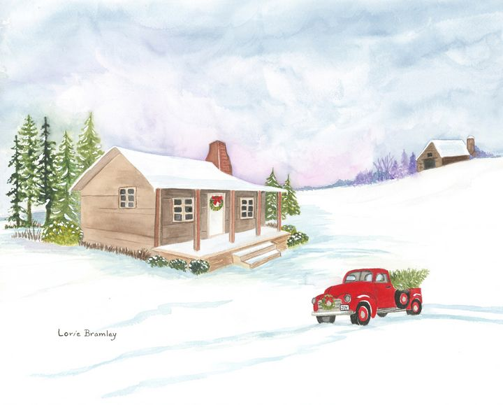That Old Red Truck - Lorie Bramley