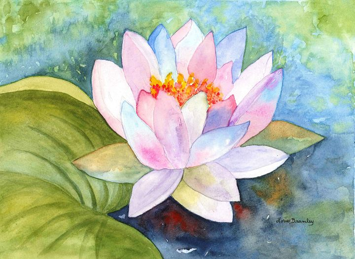 Water Lily - Lorie Bramley