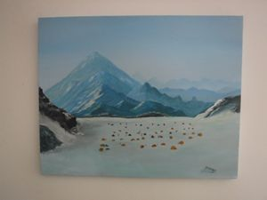 Mt Everest {base Camp} - Dave'sArt