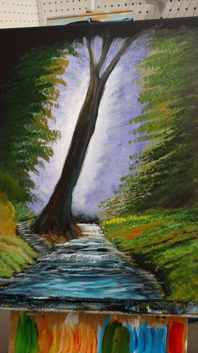 Lonesome Tree   SOLD - Dave'sArt