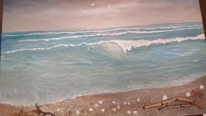 3D Ocean mave colors - Dave'sArt