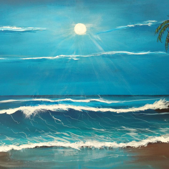BLUE MOON  SOLD - Dave'sArt