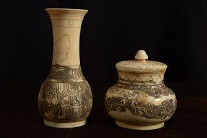 Ivory Chinese Vase