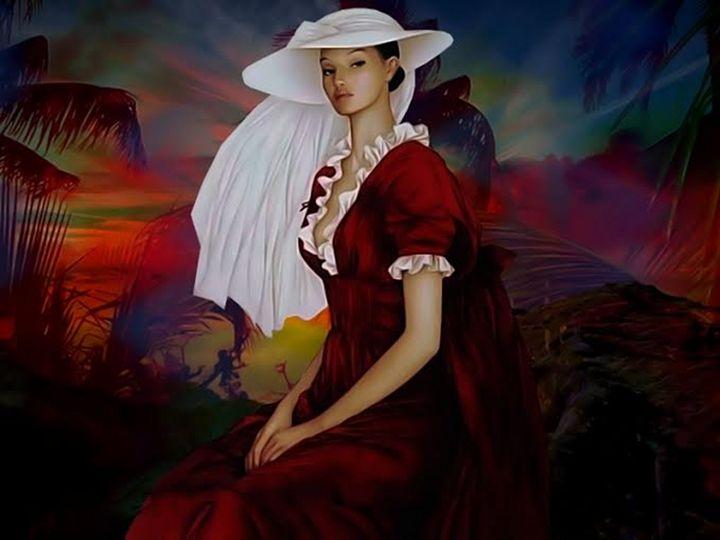 La Dama De Rojo - Sonia Glez