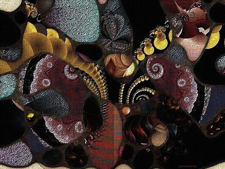 Collage Aminata - Sonia Glez