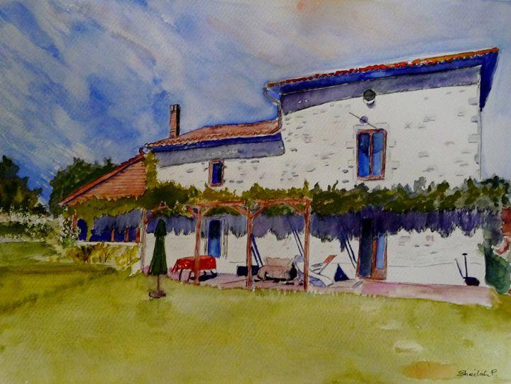 French Farmhouse - Sheilah's Art