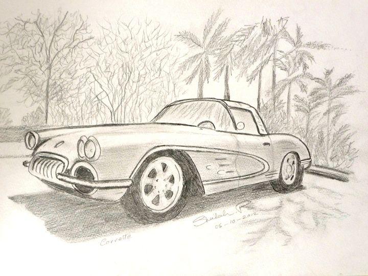 Well - it's a Car - Sheilah's Art