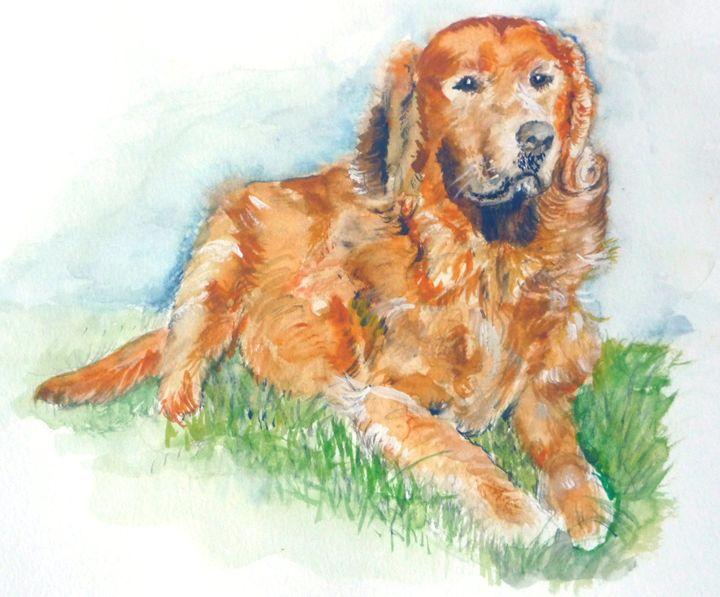 Golden Retriever - Sheilah's Art