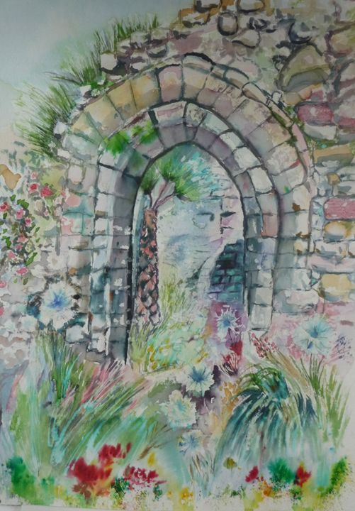 Through the archway - Sheilah's Art