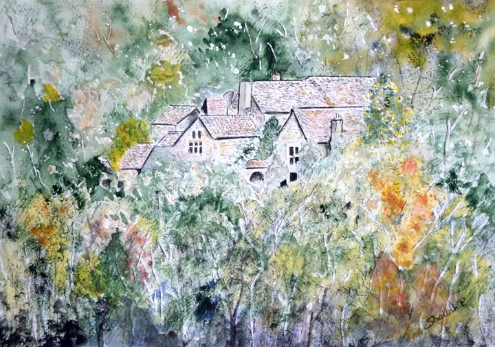 Homes in the Tarn Valley, France - Sheilah's Art