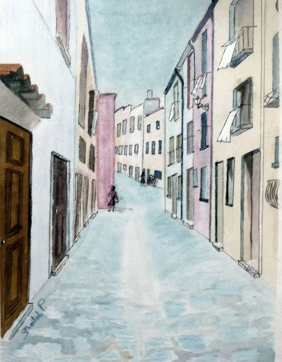 Collioure in Southern France - Sheilah's Art