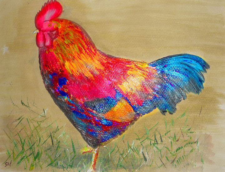 Cockerel - Sheilah's Art