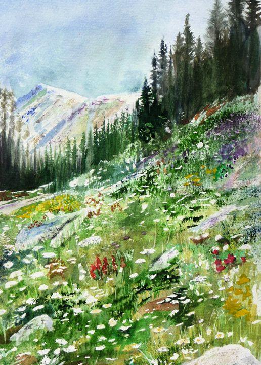 Mount Rainer - Sheilah's Art