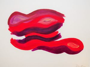 Untitled Red Forms