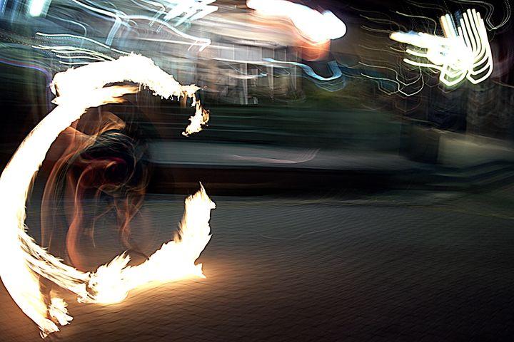 Fire dancer -  Kellthemighty
