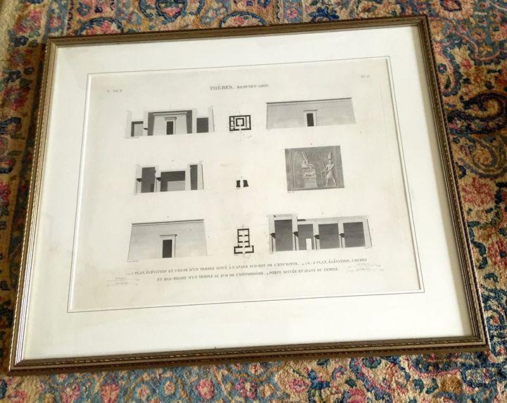 Architectural print - Patricia Ann Mazzola gallery