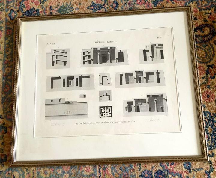 French architectural print - Patricia Ann Mazzola gallery