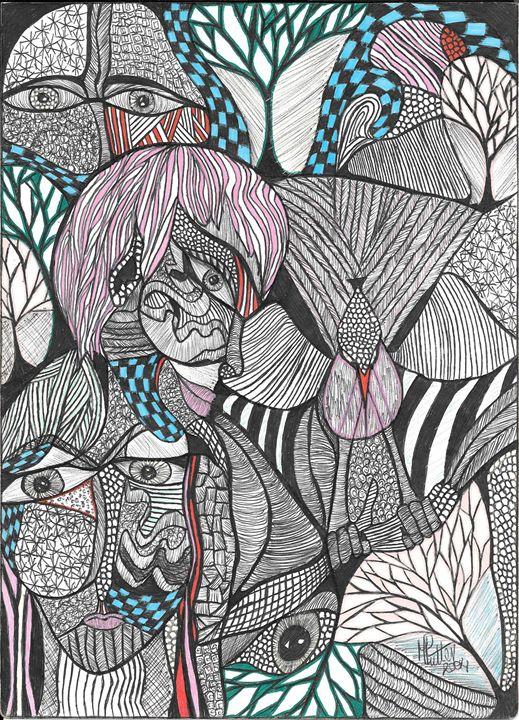 Doodle 1 - Marisa Swart