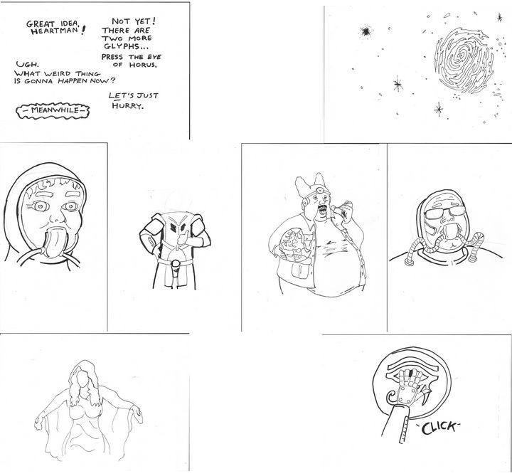 "David Liebe Hart ""Heartman"" Comic - Mike Nobody"