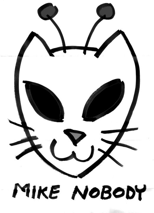 Spacecat Face - Mike Nobody