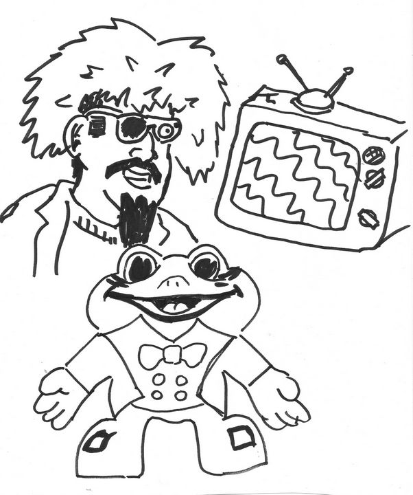 The Ghoul and Froggy the Gremlin TV - Mike Nobody