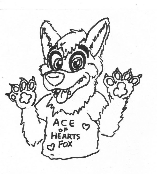 Ace of Hearts Fox - Mike Nobody