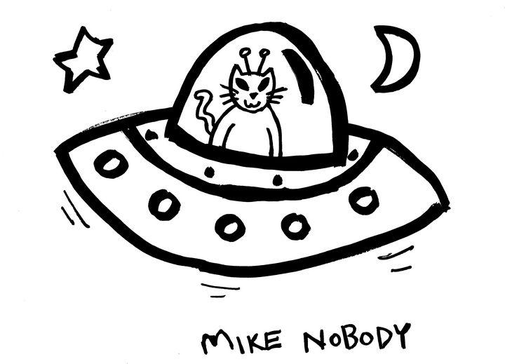 Spacecat UFO - Mike Nobody