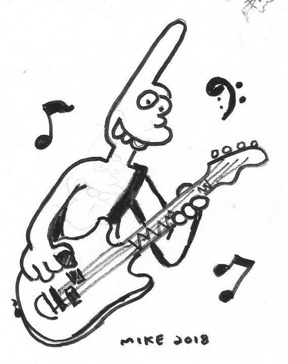 Binky on Bass - Mike Nobody