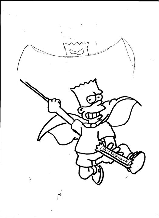 Bartman (The Simpsons) - Mike Nobody