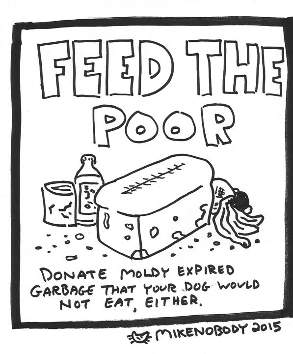 08-14-2015 (Feed the Poor) - Mike Nobody