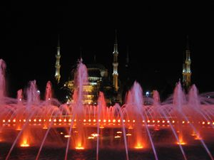 Blue Mosque, Istanbul at night