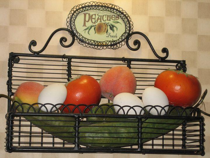 still image - veggie, fruits, eggs - bluemeteor