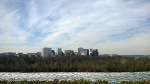 frozen melody of Potomac River