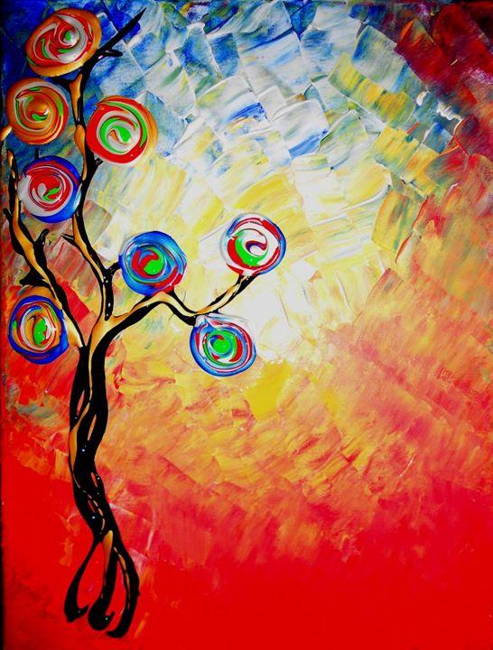 Rainbow tree - Dilber's Gallery