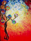 50cmX60cm Acrylic on canvas