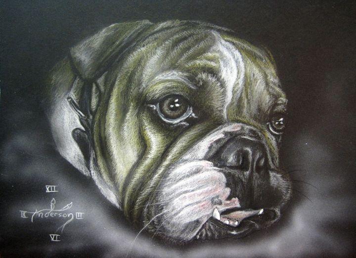 Portrait of Bosco - Jonathan Anderson Artist