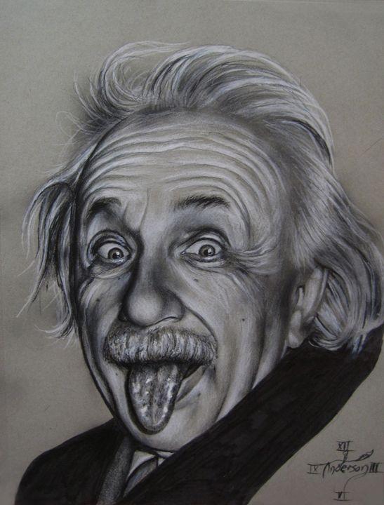 Einstein's tongue - Jonathan Anderson Artist