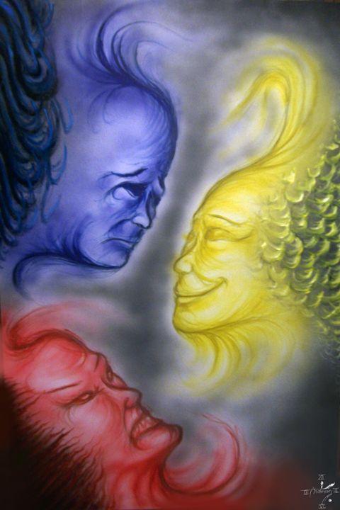 Emotional Primaries - Jonathan Anderson Artist