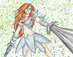 Watercolor Warrior