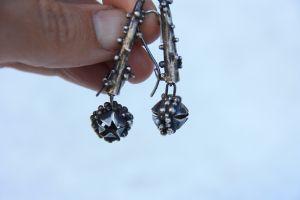 Earrings with starfish