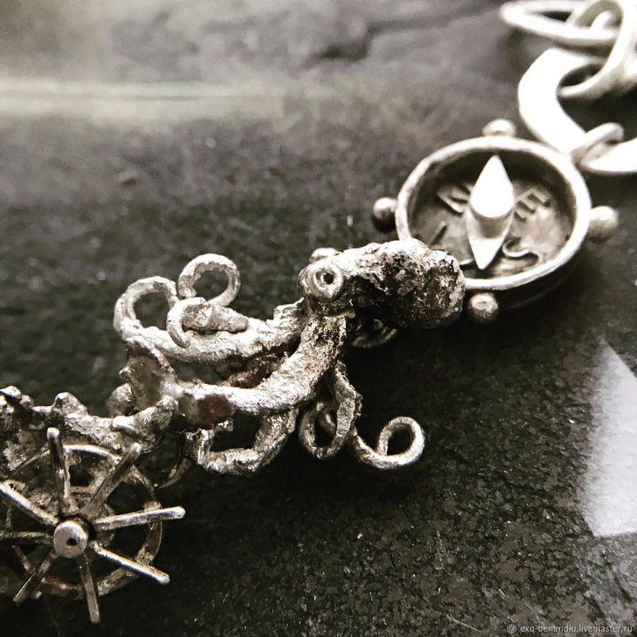 Caribbean pirates bracelet - BENANDLU Art - Evgenia Alexeeva