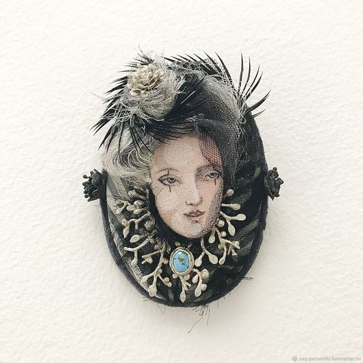 Three roses and turquoise - BENANDLU Art - Evgenia Alexeeva