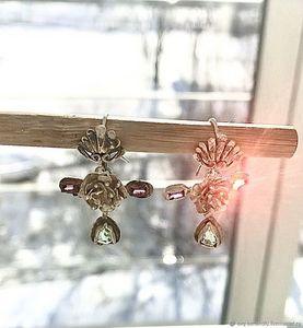 Inner light earrings