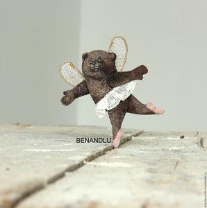 Bear ballerina wow!!! brooch